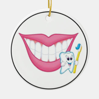 tooth fairy smile christmas ornament