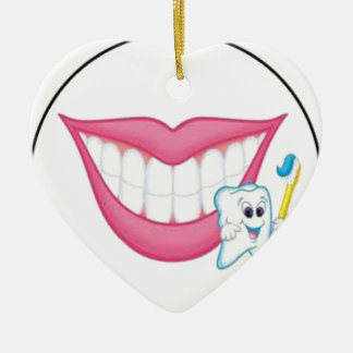 tooth fairy smile christmas tree ornament