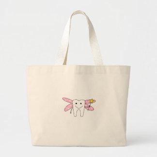 tooth fairy jumbo tote bag