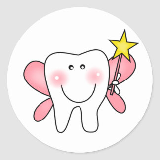 Tooth Fairy Tshirts and Gifts Classic Round Sticker