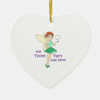 TOOTH FAIRY WAS HERE ORNAMENT