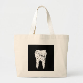 Tooth graphic bag