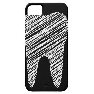 Tooth graphic for dentist iPhone 5 case