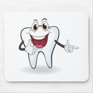 tooth mouse pad