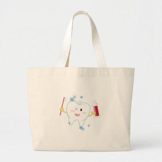 Tooth & Paste Tote Bags