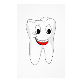 Tooth Personalized Stationery