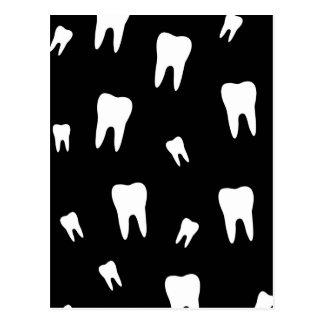 Tooth wallpaper postcard