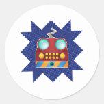 ToothBot Round Sticker