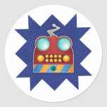 ToothBot Round Stickers
