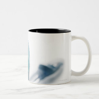 Toothbrush and toothpaste Two-Tone coffee mug