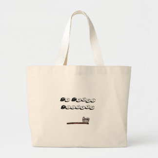 toothbrush, No Candy Allowed Jumbo Tote Bag