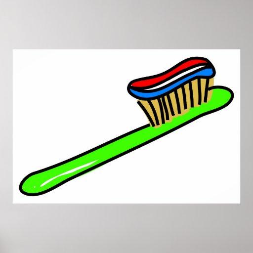 Toothbrush Print