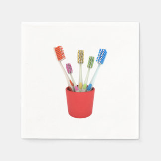 Toothbrushes Paper Napkins Disposable Napkin