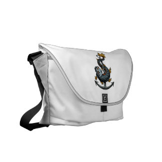 toothed fish around anchor.png courier bag