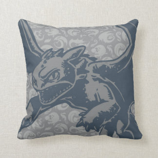 Toothless Character Art Cushion