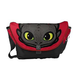 Toothless Head Icon Courier Bag