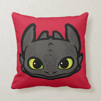 Toothless Head Icon Cushion