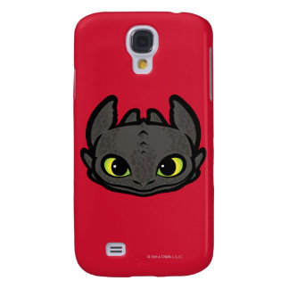 Toothless Head Icon Galaxy S4 Case