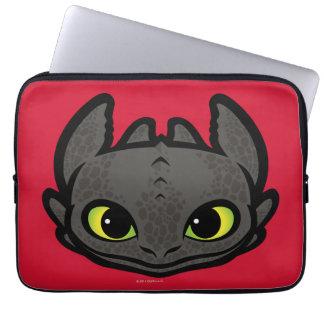 Toothless Head Icon Laptop Computer Sleeve
