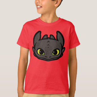 Toothless Head Icon Tee Shirt