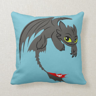 Toothless Illustration 01 Cushion