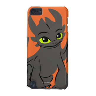 Toothless Illustration 02 iPod Touch (5th Generation) Cases