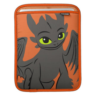 Toothless Illustration 02 Sleeves For iPads
