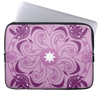 Toothless Purple Icon Laptop Sleeve