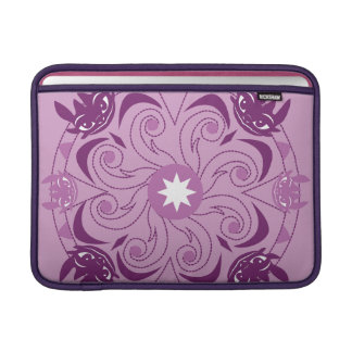 Toothless Purple Icon Sleeve For MacBook Air