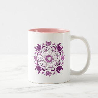 Toothless Purple Icon Two-Tone Coffee Mug