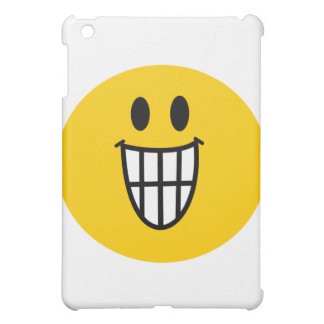 Toothy grin smiley iPad mini case