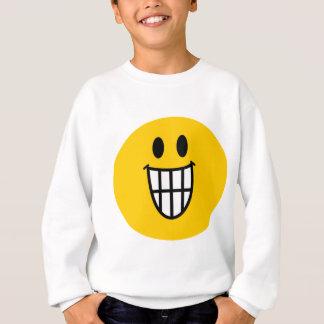 Toothy grin smiley sweatshirt