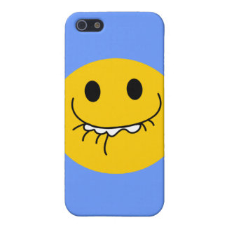 Toothy smile smiley face cover for iPhone 5