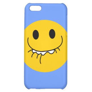 Toothy smile smiley face iPhone 5C covers
