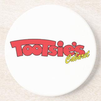 Tootsies Cabaret Sandstone Coasters