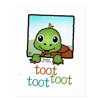 Tooty the Turtle (Pathway Pet) Postcard