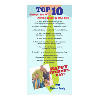 Top 10 Father's Day Photo Invitation Card Photo Greeting Card
