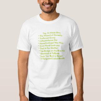 Top 10 Welsh films Shirt