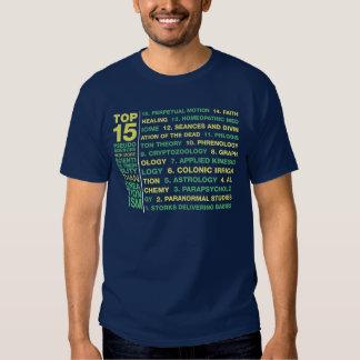 Top 15 Pseudosciences Shirt