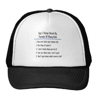 Top 5 Things Heard Cap