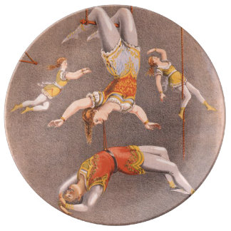 TOP Acrobat in the House Plate