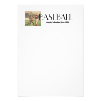 TOP America s Pastime Personalized Announcements