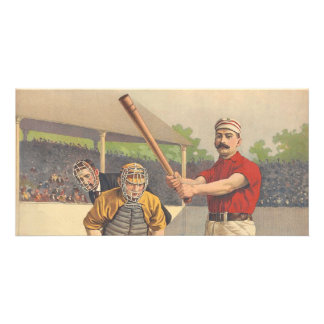 TOP America's Pastime Custom Photo Card