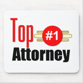 Top Attorney Mouse Pad