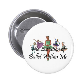 TOP Ballet Within Me 6 Cm Round Badge