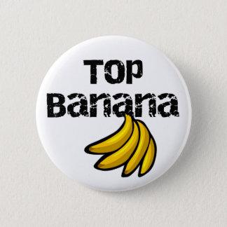 Top Banana 6 Cm Round Badge