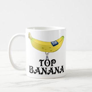 Top Banana Basic White Mug