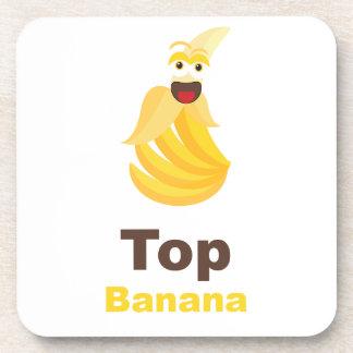 Top Banana Beverage Coasters