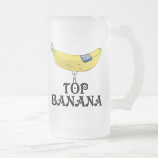 Top Banana - Customized Frosted Glass Beer Mug