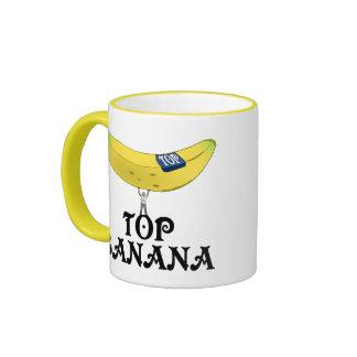 Top Banana - Customized Ringer Mug